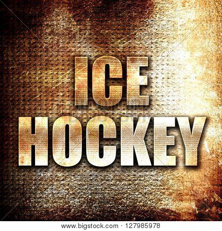 ice hockey sign background