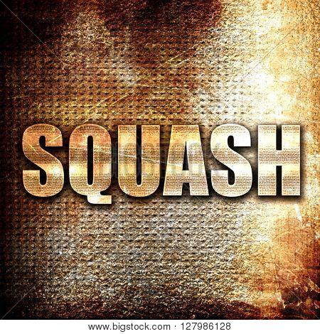 squash sign background