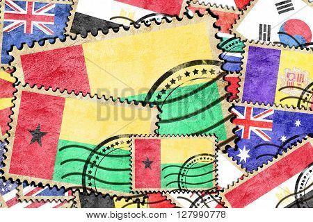 Guinea bissau vintage  postal stamp