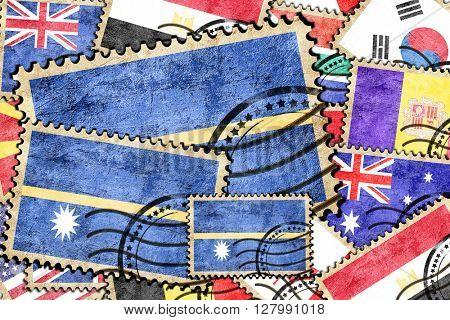 Nauru vintage  postal stamp