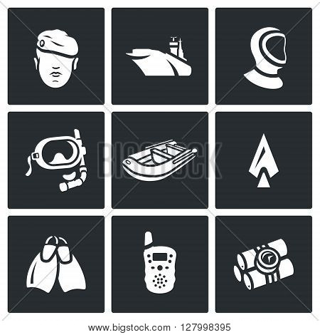 Military, Aircraft Carrier, Thermal Underwear, Diving, Dinghy, Weapon, Equipment, Intercom, Explosive icons