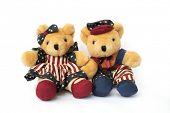 image of teddy-bear  - Isolated American Teddy Bears - JPG