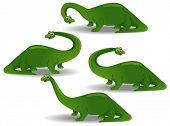stock photo of apatosaurus  - Brontosaurus   - JPG