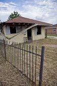 stock photo of katrina  - Destructed House after Hurricane Katrina - JPG