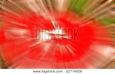 Zoom blur abstract background