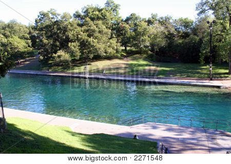 Barton Springs Pool en Austin, Texas