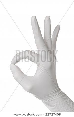 Hand Gesture In Glove