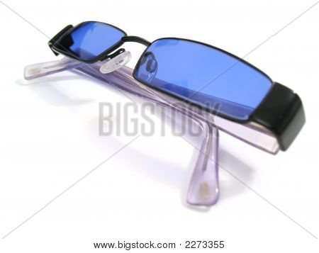 Blue Lens Tinted Glasses