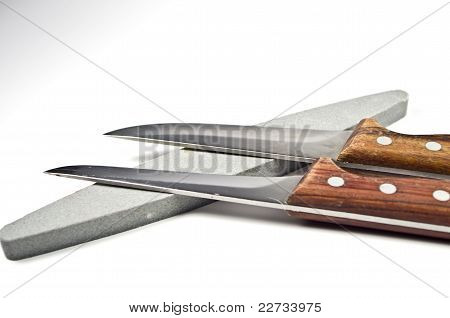 Two kitchen knives