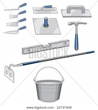 Bricklayer Masonry Tools