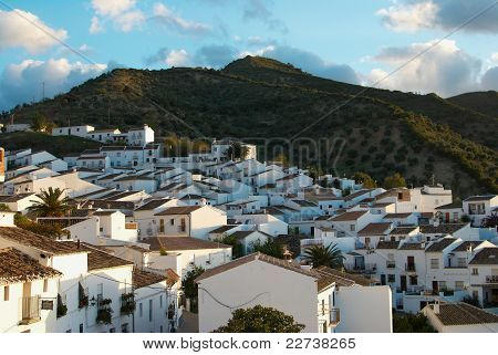 Whitewashed Andalusian Town