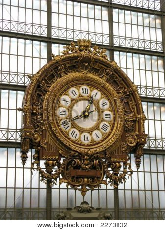Ornate Orsay Clock