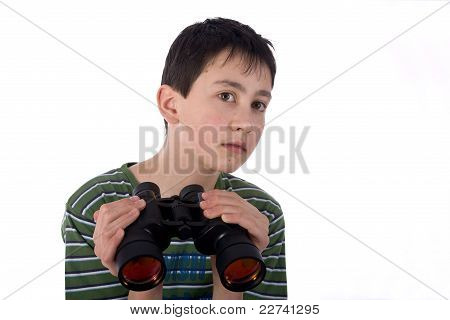 Boy with a Spyglass