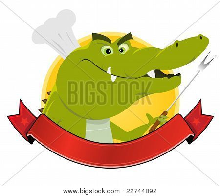 Crocodile Restaurant Banner