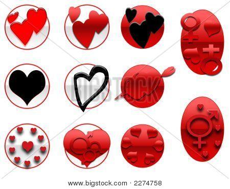 Valentines Icons