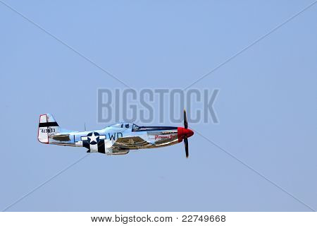 WWII P-51 Mustang Fighter