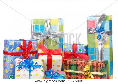 Detail Of Gift Boxes