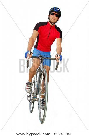road cycler isolated
