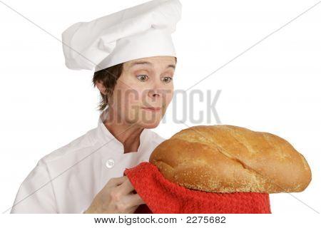 Chef-Serie - Brot zu bewundern