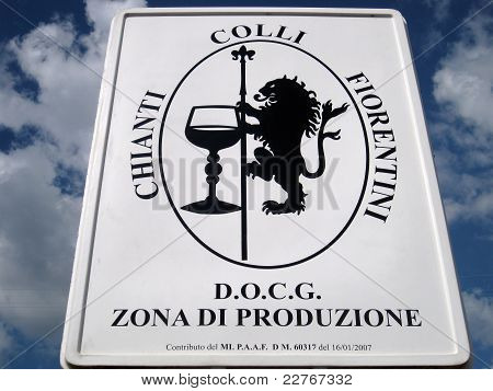 Chianti's Sign