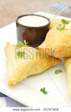 Feta And Spinach Pastries