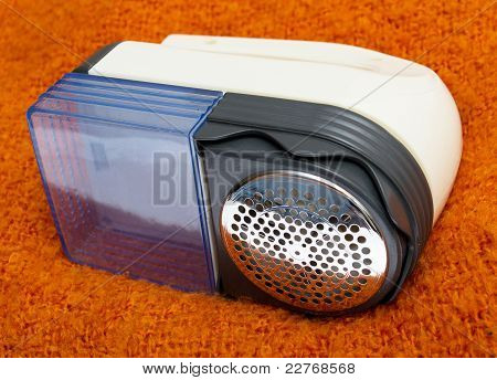 Lint Remover Isolated