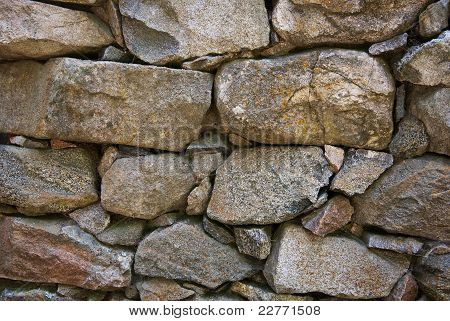 Closeup Of Granite Wall