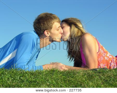Couples Kiss