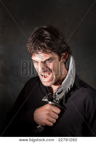 Vampire With Athame