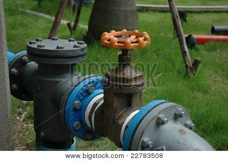 water main valves