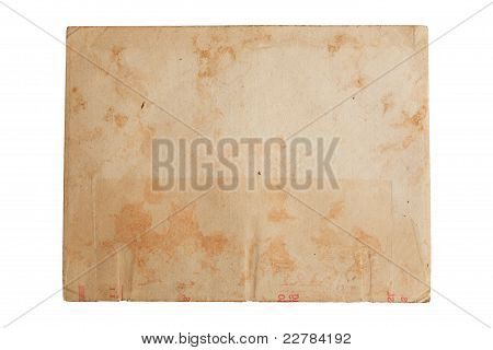old paper stained