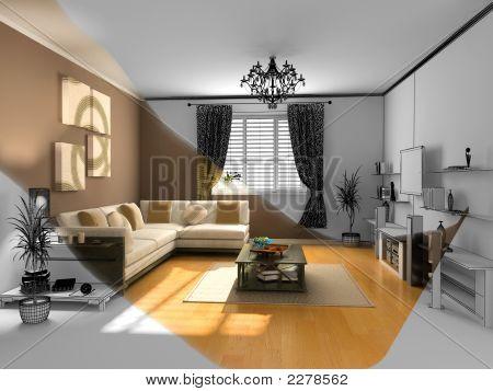 The Modern Interior Sketch