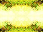 pic of tabriz  - fractal background - JPG