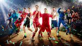 Successful Football, Soccer, Basketball, Baseball, Tennis Players, Cars, Boxing Fighters On Professi poster