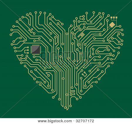 Motherboard Heart