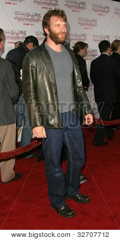 LOS ANGELES - JUN 18: Thomas Jane at the premiere of 'Charlie's Angels: Full Throttle' on June 18, 2003 in Los Angeles, California