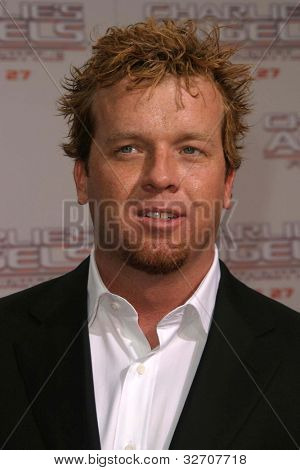 LOS ANGELES - JUN 18: McG at the premiere of 'Charlie's Angels: Full Throttle' on June 18, 2003 in Los Angeles, California