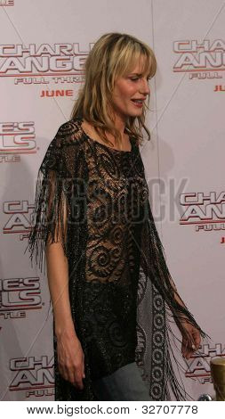 LOS ANGELES - JUN 18: Daryl Hannah at the premiere of 'Charlie's Angels: Full Throttle' on June 18, 2003 in Los Angeles, California