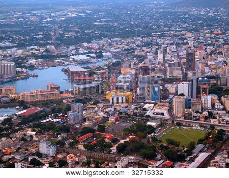 Port Louis skyline