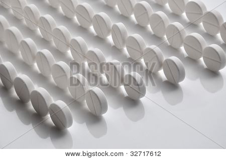 Rows Of Pills