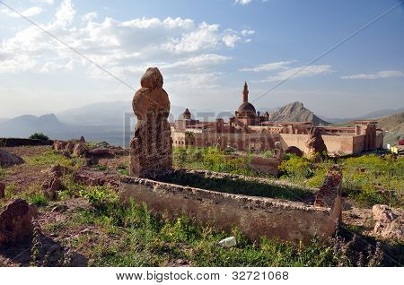 Ishak Pasha Palace near Dogubayazit in Eastern Turkey