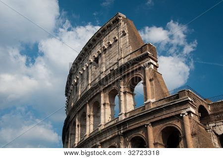 Coliseum of Rome, Italy