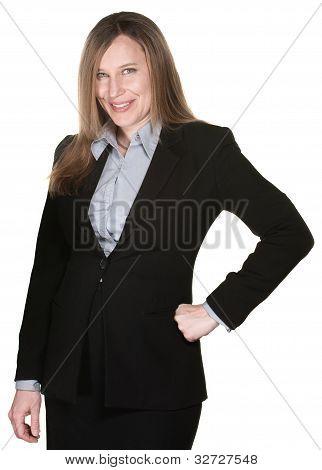Confident Buisness Woman
