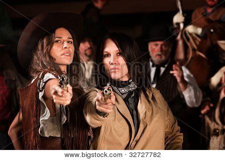 Female Gun Fighters
