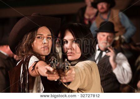 Pretty Gunfighters