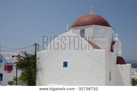 Church In Chora, Mykonos
