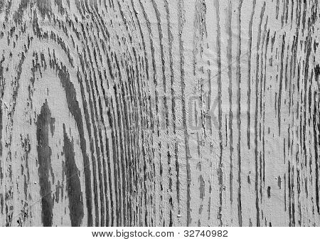 Wood texture with peeling paint in round shape