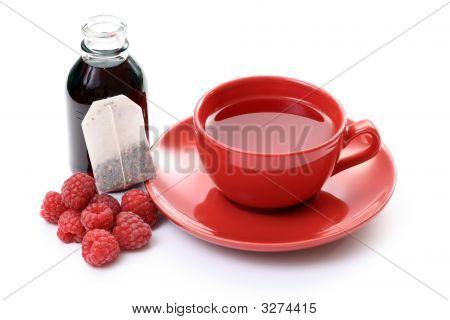 Té de frambuesa