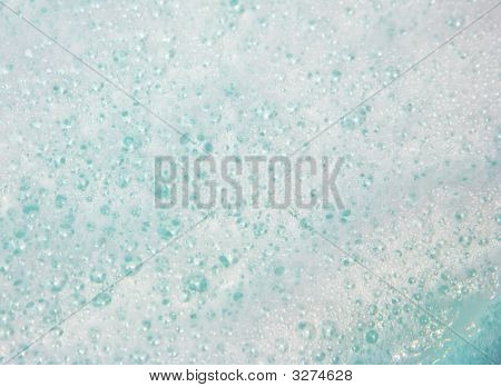 Foamy Water Bubbles