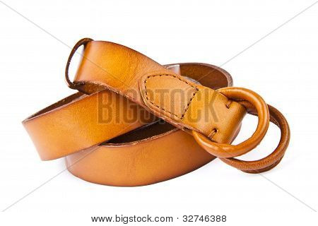 Women's Leather Belts.